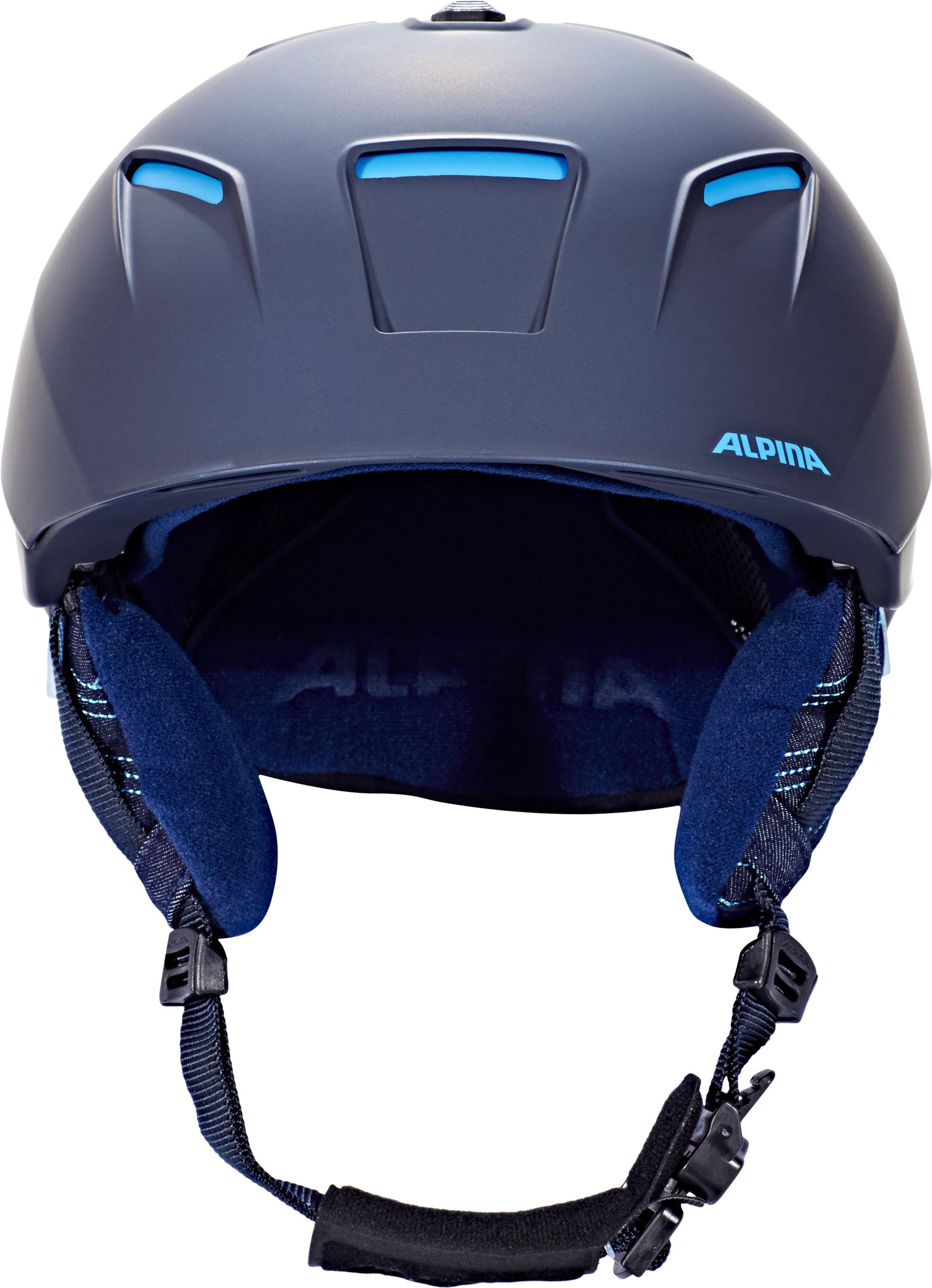 Alpina Cheos Casco De Bicicleta Azul Campz Es